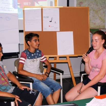 ON AIR: Radio-Workshop im Deutschen Verein St. Gerhard