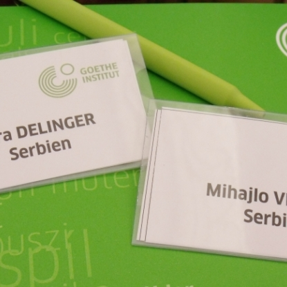 Internationale Konferenz des Goethe-Instituts in Budapest
